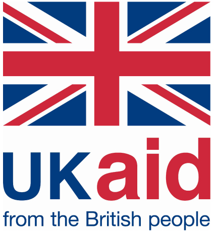 UK aid logo colour to print on A4 or A3
