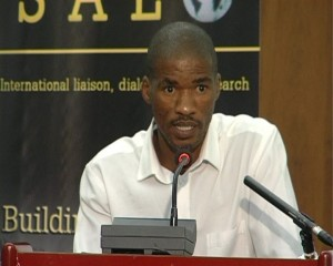 Lucian Segami, National Education and Health & Allied Workers' Union (NEHAWU)