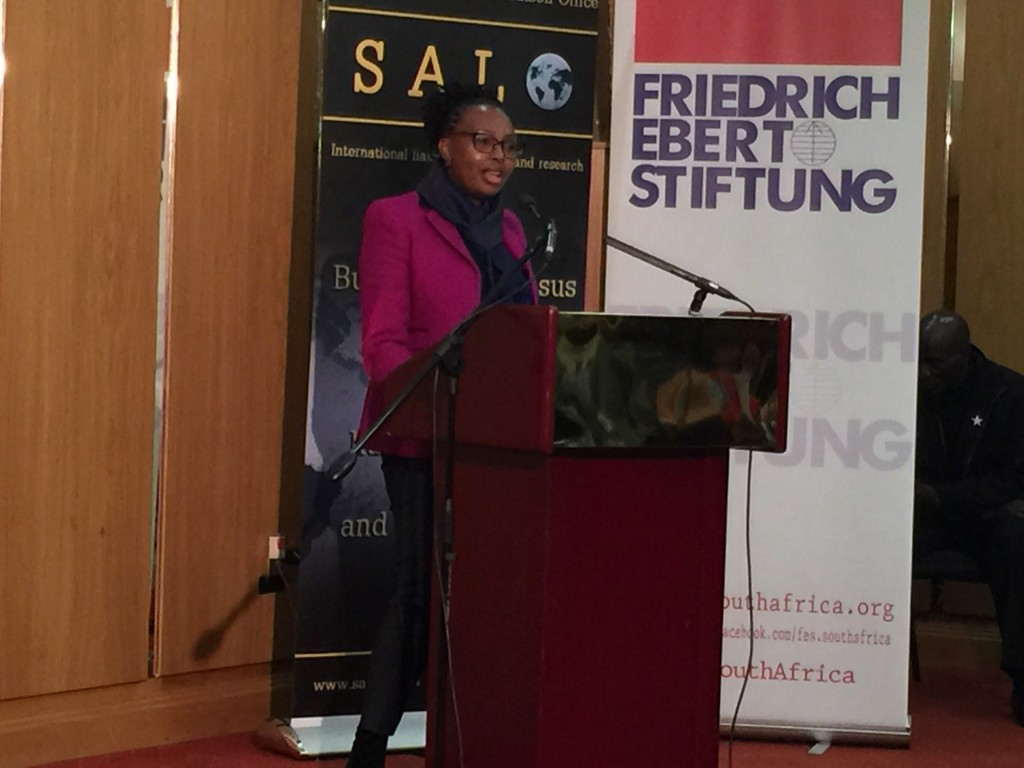 Zimbabwe - Ms Lindi Mminele,  Director: Southern Africa, Department of International Relations and Cooperation (DIRCO)