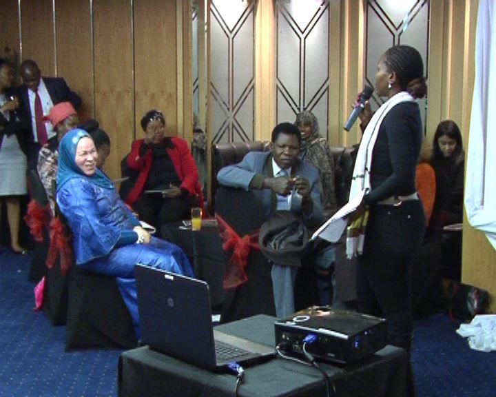 Ms. Litlhare Direbele, (SALO) addressing workshop
