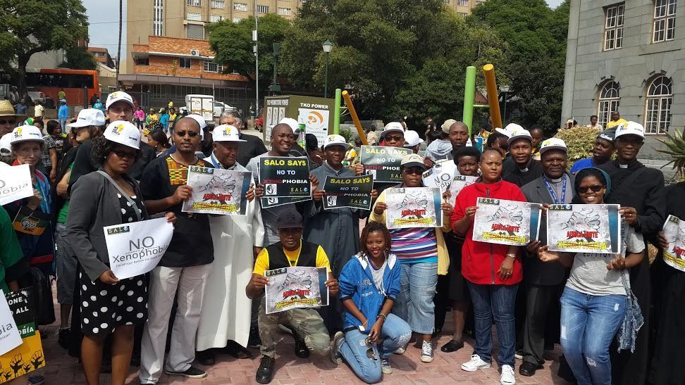 SALO at Anti-Xenophobia March – 25 April 2015 | The ...