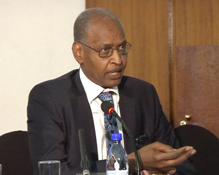 Ambassador Acheikh Ibn-Oumar, Former Chadian Government Minister and Advisor, and Former Chad High Representative to the United Nations
