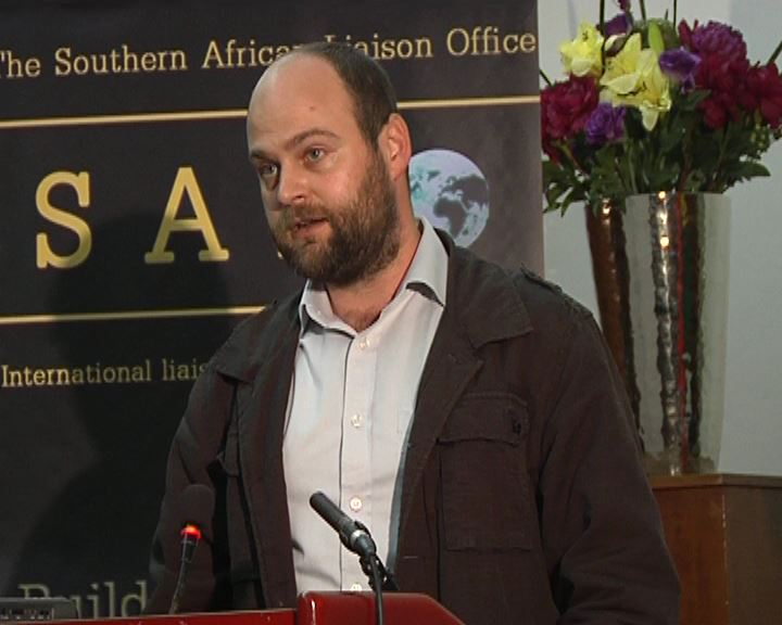 Mr Braam Hanekom, Migrant and Refugee Rights activist