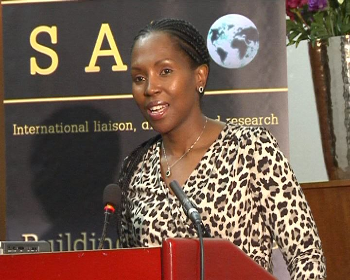 •Women's Rights: Ms Litlhare Rabele, Gender, Peace and Security coordinator, SALO