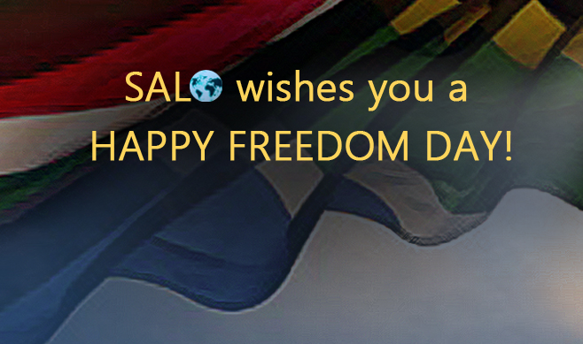 Happy Freedom Day South Africa!