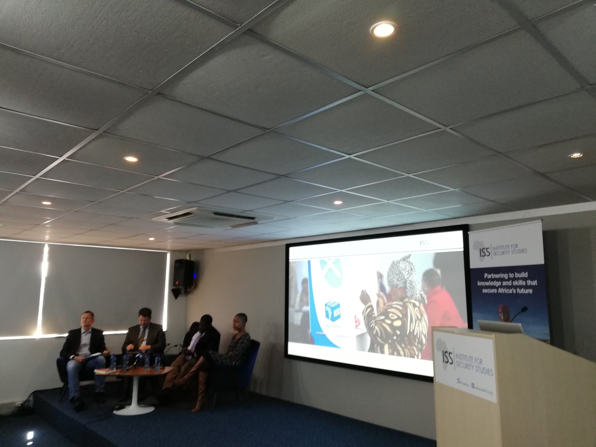 SALO attending @issafrica event on 2019 elections in SA. – April 2019