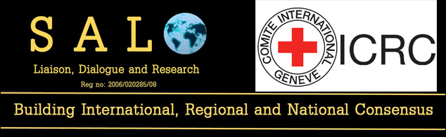 SAVE THE  DATE: HUMAN SECURITY IN  THE CENTRAL AFRICAN REPUBLIC:   PROSPECTS AND  PERSPECTIVES   – Thursday 23 May 2019