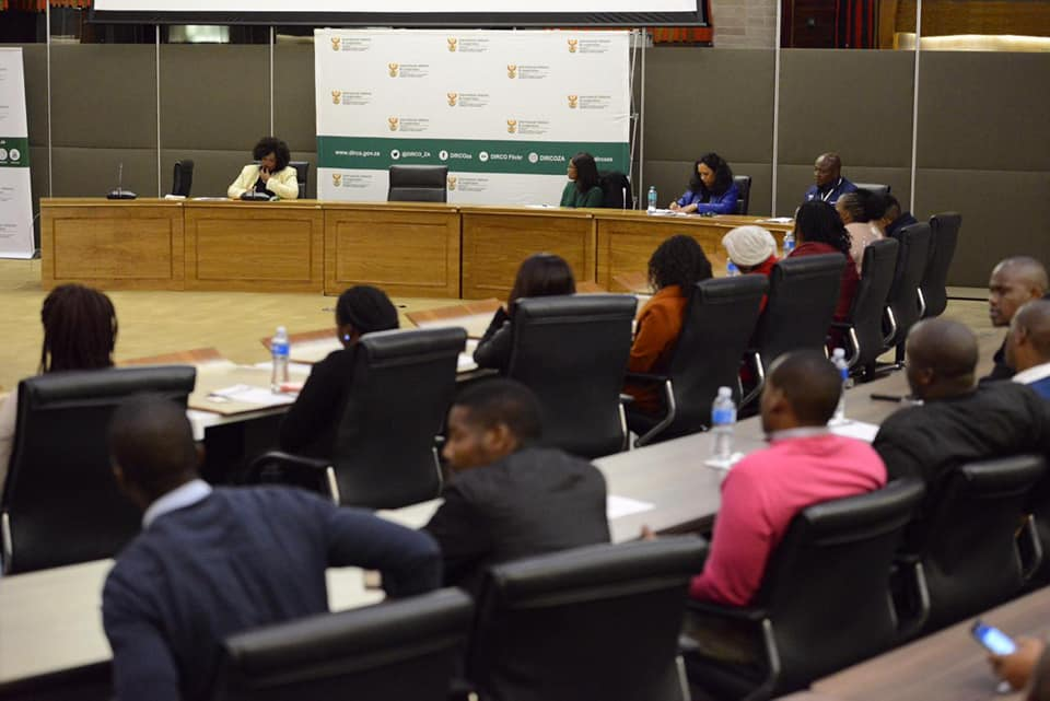 SALO speaking at Youth Development Dialogue