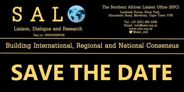 SAVE THE DATE: South Africa's Land  Reform: Drawing Lessons from Zimbabwe