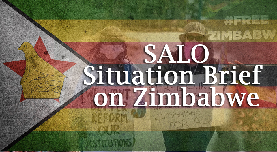 Southern African Liaison Office Situation Brief on Zimbabwe – 15 Sept 2020
