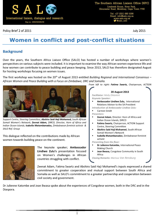 Policy Brief - Women illustrated-1