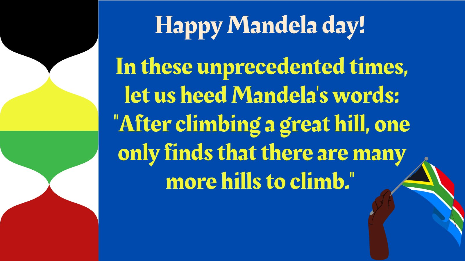 Happy Nelson Mandela Day!