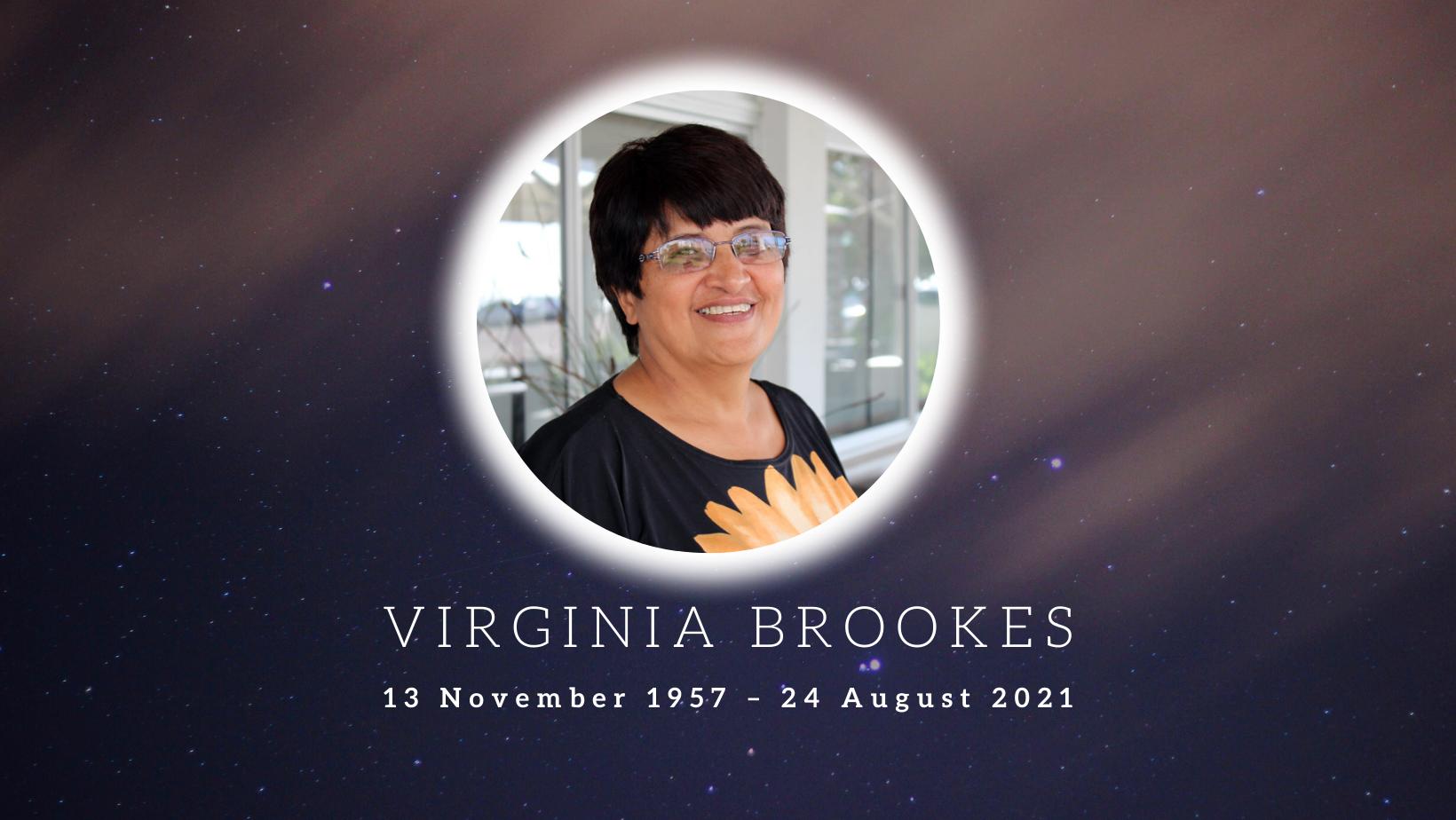 SALO tribute to Virginia Brookes: